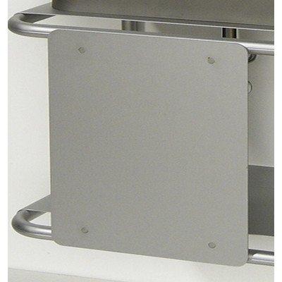 Whitehaus AEP4545PL Aeri Line Square Sliding Door, Aluminum