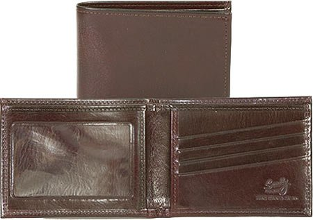 Italian Window Scully Mahogany Slim 0 Unisex Leather Id W 2005W Billfold vvSwr8nzx