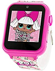 L.O.L. Surprise! Touch-Screen Watch with Silicone Strap, Pink, 21.5 (Model: LOL4104