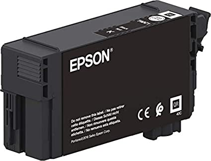 Epson Singlepack UltraChrome XD2 Black T40C140(50ml) - Cartucho de ...