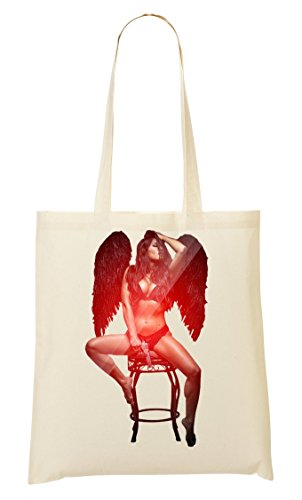 Calda Bella Shopping Cattivo Angelo Ragazza Bag Borsa Wc4wpxBqxR