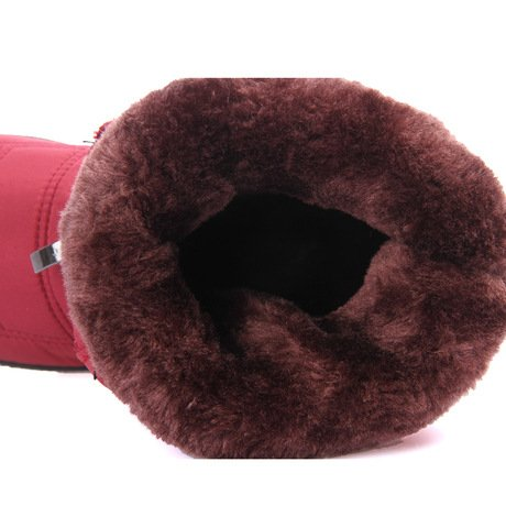 Mom Mom Donne RED Morbida Antiscivolo di di di XIE Suola 39 Neve Cotone Impermeabile Stivali Stivali 36 Incinte Stivali Caldo Invernale Moda wTIxxvqp
