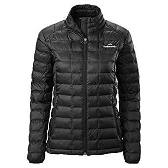 Kathmandu Heli Warm Thermore™ Ecodown™ Water Repellent Womens Jacket Women's Black 10