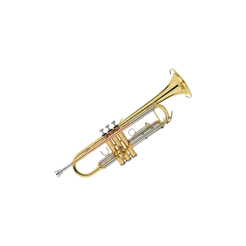 Kaizer Trumpet Bb B Flat Gold Lacquer Ro