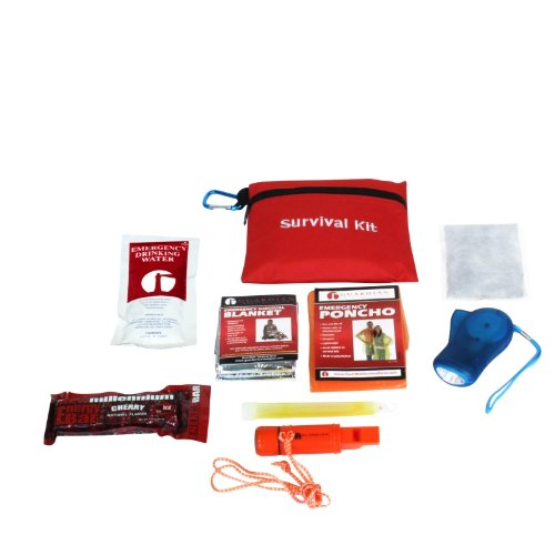 Guardian Survival Mini Compact Travel Size Bag Emergency Kit, 1 Child