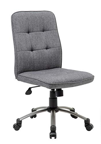 Boss Office Products (BOSXK) 1 Ergonomic Office Chair Fabric Slate Gray