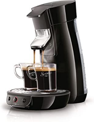 Philips Senseo Viva Café - Cafetera monodosis, color negro: Amazon ...
