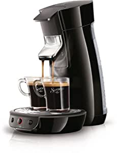 Philips Senseo Viva Café - Cafetera monodosis, color negro