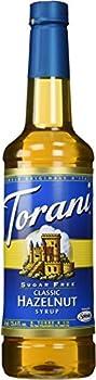 Torani Syrup, Sugar Free Classic Hazelnut, 25.4 Oz 0