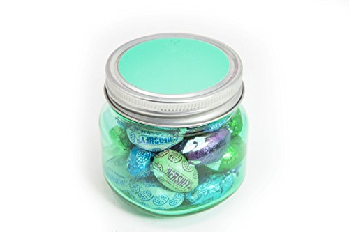 Happy Easter Eggstravaganza ~ Glass Reusable Jar Filled with