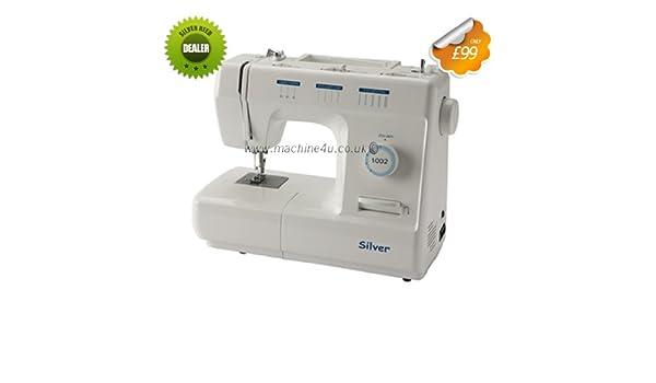 Silver Reed – Máquina de coser 1002 marca nueva: Amazon.es: Hogar