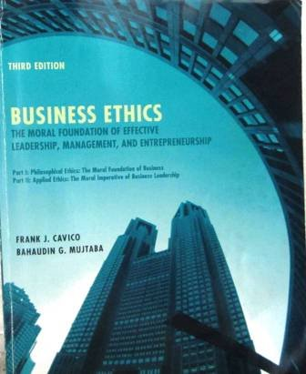 51 best selling business ethics books of all time bookauthority book cover of frank j cavico bahaudin g mujtaba business ethics fandeluxe Choice Image
