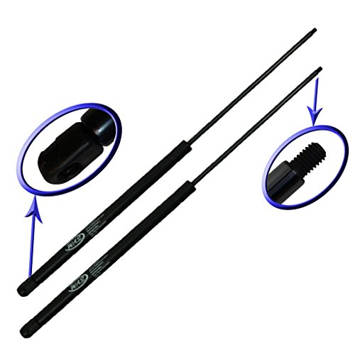 Two Rear Glass Gas Charged Lift Support For Back Window Left and Right Side For 1992-2005 Chevrolet Astro Van, 1992-2005 GMC Safari. WGS-168-2