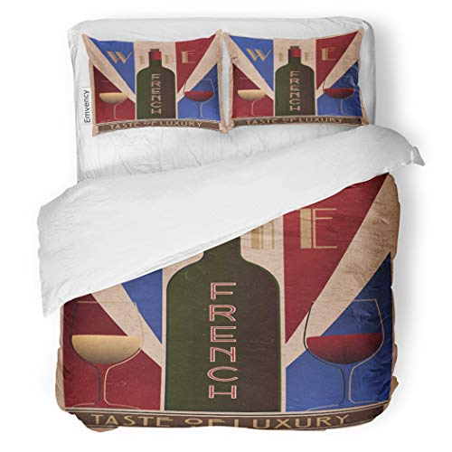 SanChic Duvet Cover Set Here Ru Listing 508712887 French Wine Old Decorative Bedding Set with 2 Pillow Cases King Size