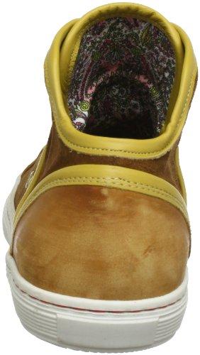 NOBRAND Gerry, Men's Hi-Top Sneakers Brown - Braun (Cognac 7177)