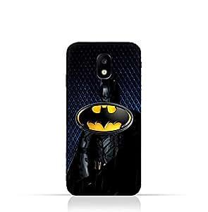 Samsung Galaxy J3 2017 TPU Silicone Protective Case with Batman Design Design