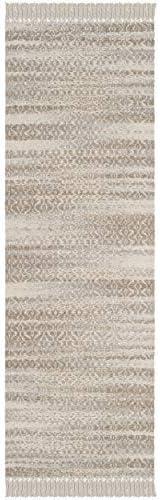 Safavieh Boston Collection Runner, 2 3 x 7 , Beige Ivory