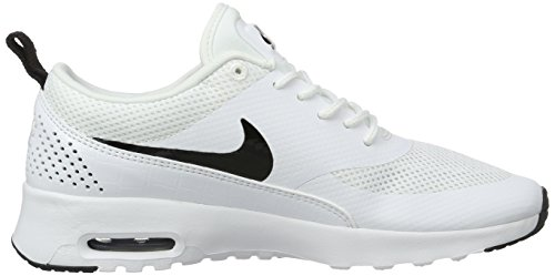 Air Femme Thea Black Max Basses White Blanc NIKE Baskets Fdw6qS6B