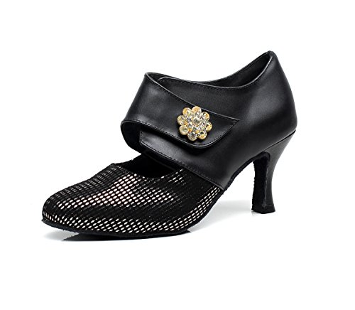 Minitoo - salón mujer Black-7.5cm Heel