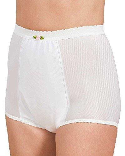Health Dri Nylon Heavy Duty Incontinence Panty, White, 16 - - Briefs Healthdri Nylon