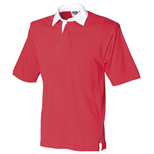 Front Row Kurzarm Rugby-Shirt FR3rot X-Large