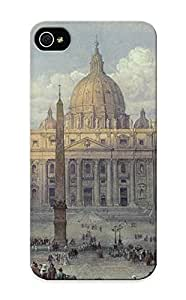 Case For Iphone 5/5s Tpu Phone Case Cover(Exterior Of St Peters In Rome From The Piazza) For Thanksgiving Day's Gift