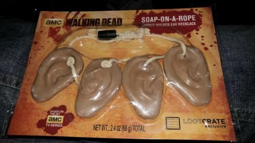 Exclusive The Walking Dead Soap on Rope Necklace Daryl Dixon TWD AMC Loot Crate]()