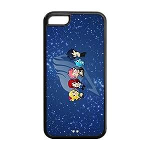 Fairy Tail iPhone 5C considerarprotectoras escayolada funda dura de piel para iPhone 5C high quality rubber case for iPhone 5C
