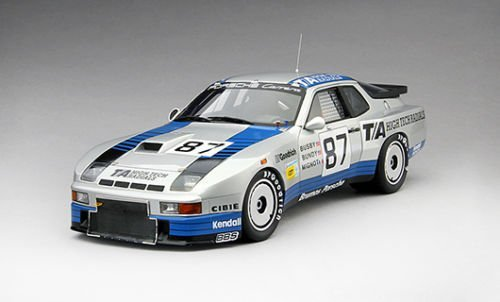 1982 Porsche 924 GTR #87 B.F.Goodrich Le Mans 24Hr Winner in IMSA GTO Class Limited Edition to 500pcs 1/18 by True Scale Miniatures 141824R This items does not have any openings and made of resin.