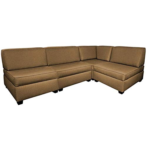 Amazon.com: Sofá cama de esquina seccional: Kitchen & Dining