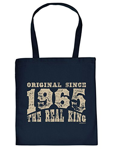 Originale Dal 1965: Borsa Con Manico In Tote Bag. Borsa Con Impronta. Borsa Per Il Trasporto, Must-have, Borsa Di Stoffa, Idea Regalo