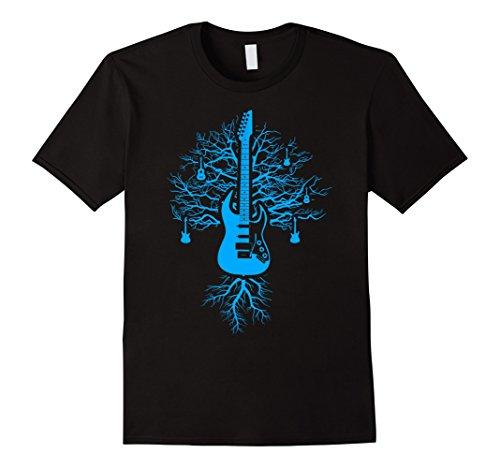 Tree of Life Guitar T-Shirt Large Black (Guitar Tree)