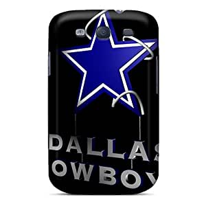 AnnaDubois Samsung Galaxy S3 Shockproof Cell-phone Hard Covers Customized Beautiful Dallas Cowboys Pictures [Kpx16172AvmG]