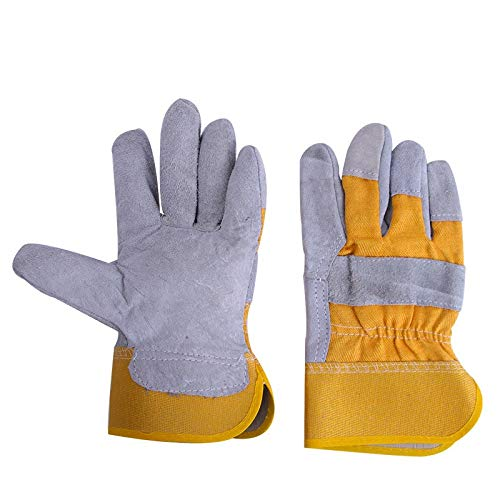 AINIYF Gloves High Temperature Stove Long Lined Work safety gloves, gardening barbecue Welders Gauntlets (Size : 8 pairs) by AINIYF (Image #4)