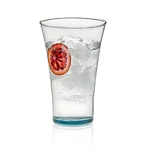 Prologue Luna Recycled Handblown Tumbler Glasses, Set of 6