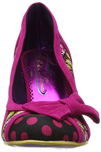 N Pink Donna Tacco Choice by Poetic Punta Licence Chiusa Rosa col It Red Shake Scarpe Irregular ZBOSqwB