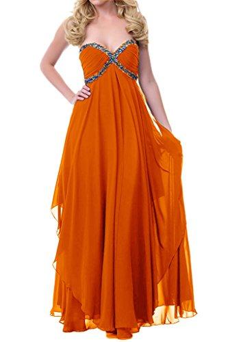 TOSKANA BRAUT - Vestido - trapecio - para mujer naranja 52