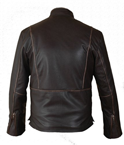 Leatherly Veste Homme Tron Legacy Sam Flynn Authentique Cuir Veste