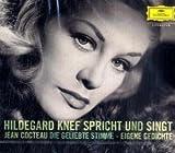 Hildegard Knef spricht und singt