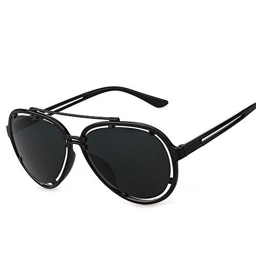 Aoligei Creux Fashion color Film hommes et femmes lunettes de soleil rétro D