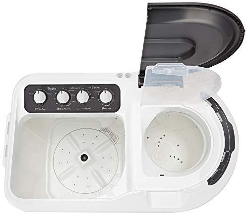 Whirlpool 7 Kg 5 Star Semi-Automatic Top Loading Washing Machine (SUPERB ATOM 7.0, Grey, TurboScrub Technology) Discounts Junction
