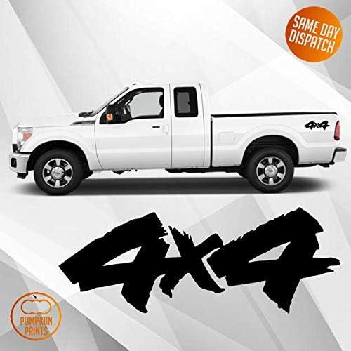 Pumpkiin Prints Vinyl Aufkleber Für Geländewagen 10 X 10 Cm Ranger Navara Jeep Warrior 1 Paar Auto