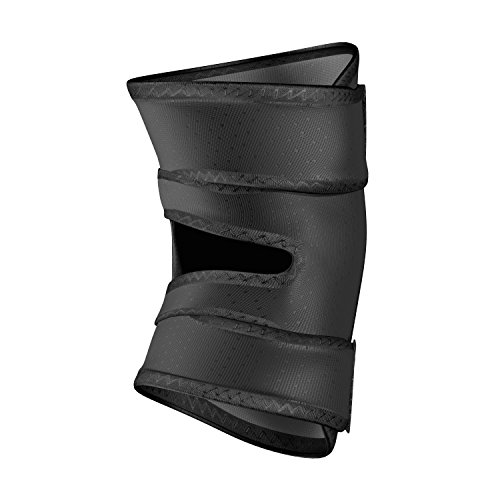 Shock Doctor Knee Brace Compression Wrap Support (1 Unit). Helps Pain / Healing from Arthritis, Bursitis, Tendonitis, Meniscus Tear, Patella Alignment and more. For Basketball, Football, Running and most Sports. Increases Blood Flow. Knee Wrap for Men and Women, Left or Right Leg