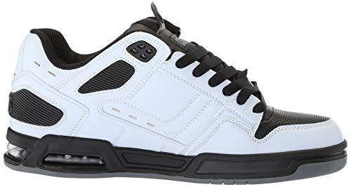 Homme Chaussure Peril Pour Noir Charcoal De Skate Blanc Osiris nrqpxWrXwg