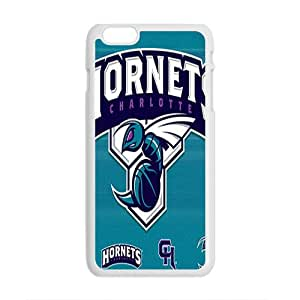 Charlotte Hornets NBA White Phone Case for iPhone plus 6 Case