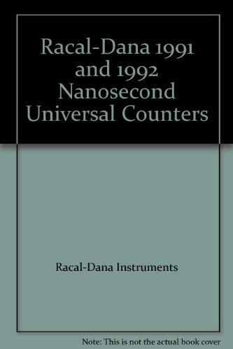 Used, Racal-Dana 1991 and 1992 Nanosecond Universal Counters for sale  Delivered anywhere in USA