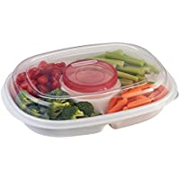 Rubbermaid Party Platter Party Tray (Clear)