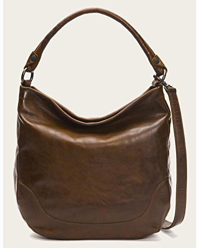 Frye Women's Melissa Hobo Bag, Dark Brown, One Size by FRYE