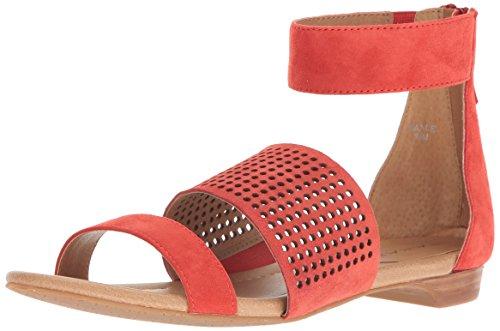 Flat Orange dance Women's Sandal Ta Tahari q6gOvtf