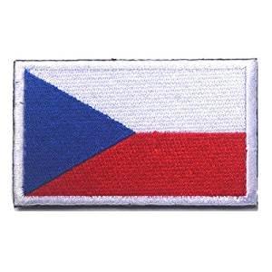Czech Republic Flag Patch with Velcro (Czech, 2